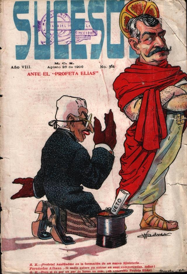 Revista Sucesos, Agosto de 1909.