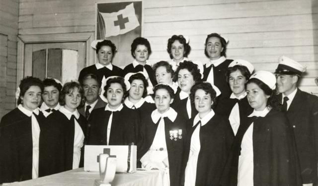 Cruz Roja en los años 60
