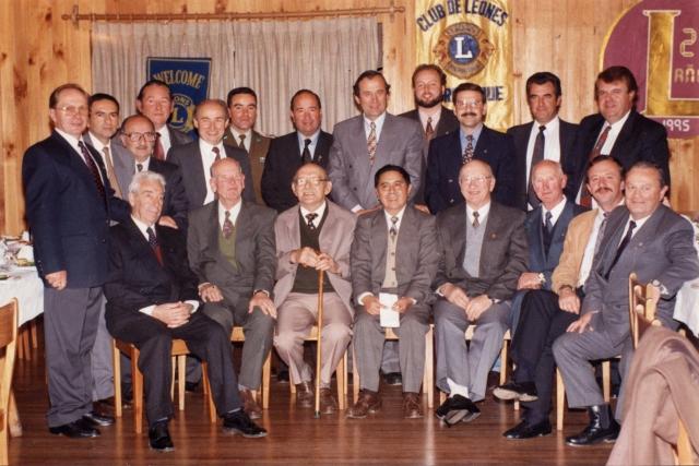 Integrantes del Club de Leones