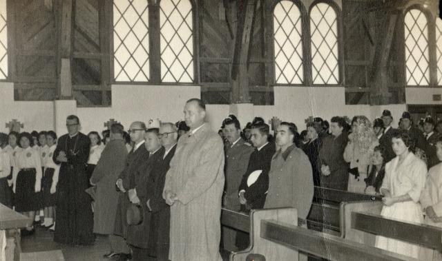 Tedeum en la Iglesia Parroquial