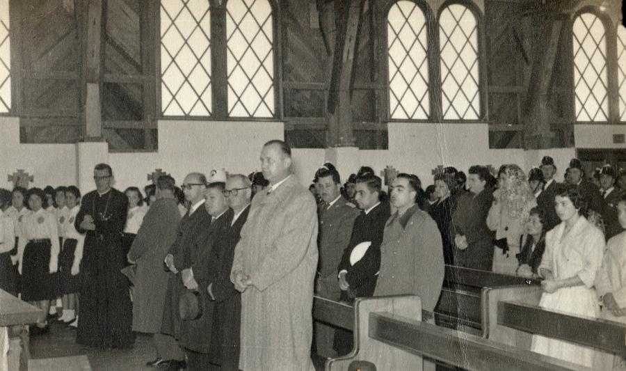 Te Deum en los 50 años de la fundación de Purranque en la Iglesia Parroquial.