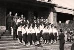 Presentación del Coro Polifónico en la Plaza de Armas