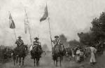 Huasos en un desfile